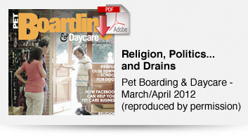 Religion, Politics.... and Drains