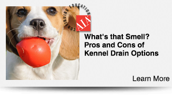 What's that Smell? Pros and Cons of Kennel Drain Options (1 hour)