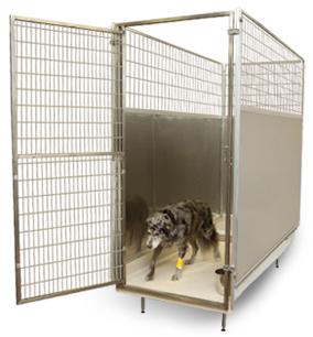 Mason company kennel manufacturer kennel designs for Design indoor dog crate