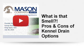 What's that Smell? Pros and Cons of Kennel Drain Options