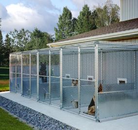 Mason company kennel manufacturer kennel designs Dog kennel layouts