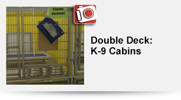 Double Deck: K-9 Cabins