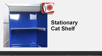 Stationary Cat Shelf