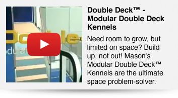 Modular 2-Story Double Deck Kennels™